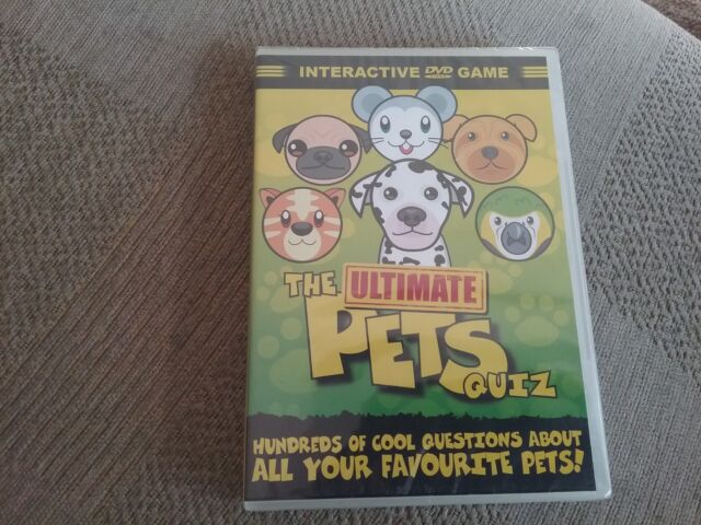 Ultimate Pets Quiz (DVD, 2008)new and sealed freepost