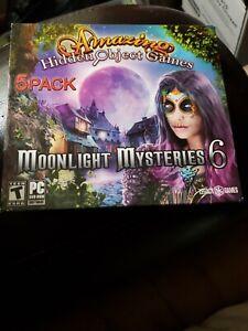 Amazing Hidden Object Games Moonlight Mysteries 6 Pc Windows 10 8 7 Xp Computer 734113031094 Ebay