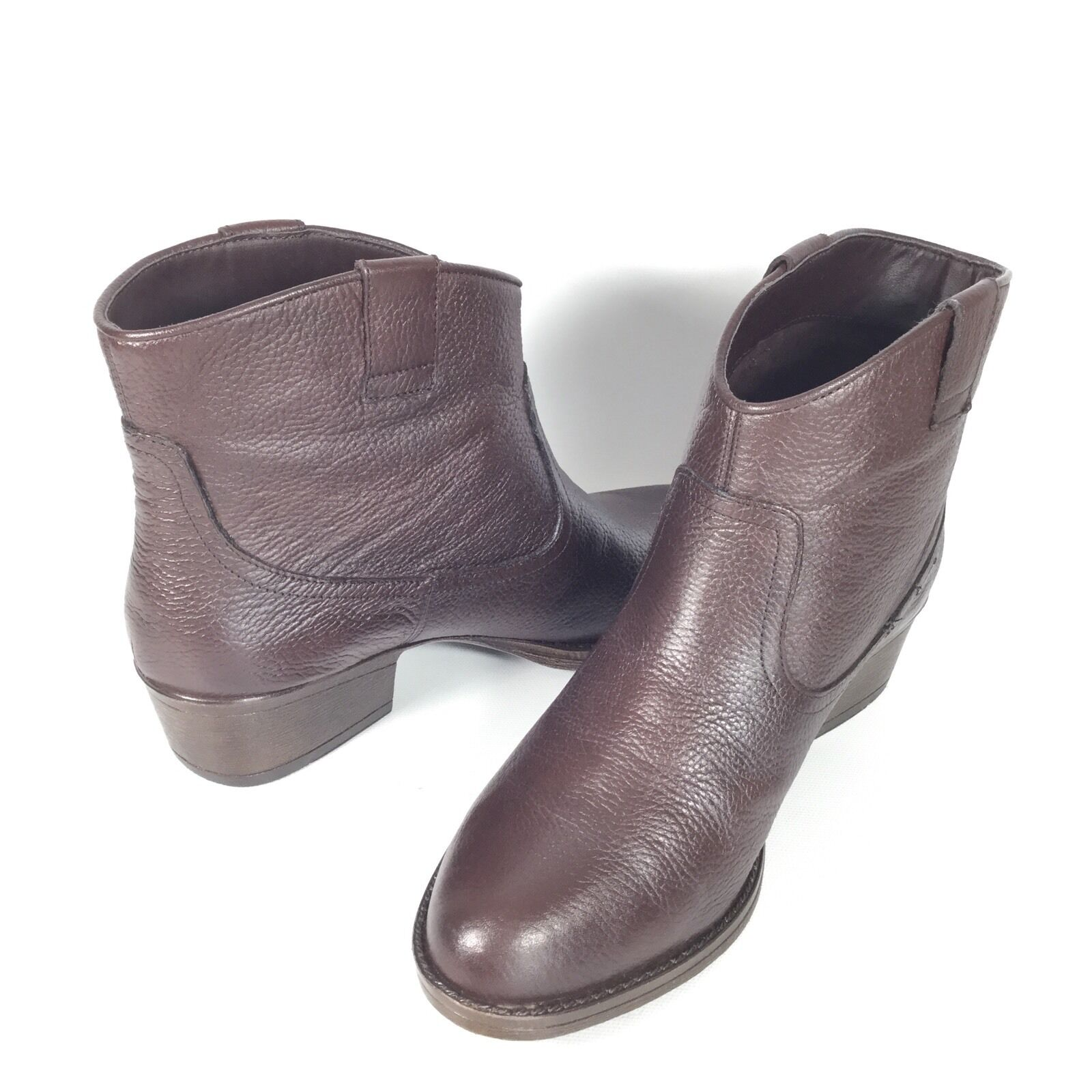 Kenneth Cole Reaction Hot Step Women's Women's Women's Size 8.5 Leather Ankle Boots. ea55bf