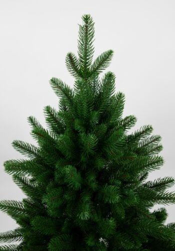 Nordmanntanne 210cm künstlicher Weihnachtsbaum Tannenbaum Kunststoff Spritzguss