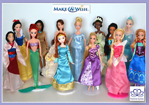 Disney-Princess-Doll-Frozen-Elsa-Anna-Rapunzel-Tiana-Jasmine-Pocahontas-Mulan