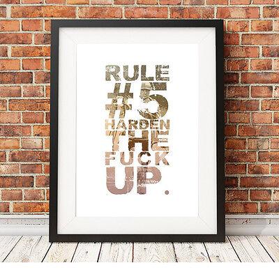 ❤ Ciclismo ❤ Regola 5 Poster Art Print Edizione Limitata In 5 Taglie #13 Retrò Vintage-