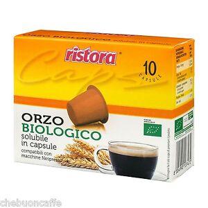 60-CAPSULE-CIALDE-CAFFE-039-ORZO-BIO-RISTORA-BIOLOGICO-NESPRESSO-DE-LONGHI-KRUPS