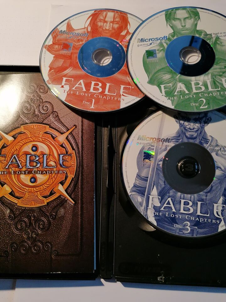 FABLE The lost Chapters, til pc, rollespil