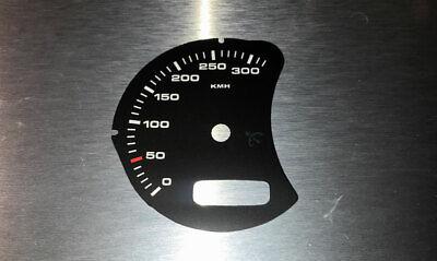 996 Porsche 911 MPH zu KMH Tachoscheibe Gauge Tacho Dial plates speedo