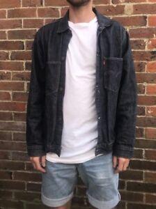 L Levi Taille Jacket Uk Jeans Levis Denim Yp1qrUHp