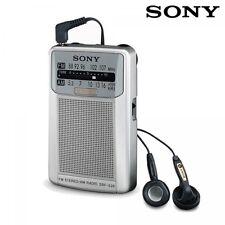 RADIO FM DE BOLSILLO SONY SRF-S26 FM STEREO CON ALTAVOZ INTEGRADO + AURICULARES