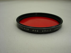 SOLIGOR-62mm-Red-Filter-25-AIR-Japan