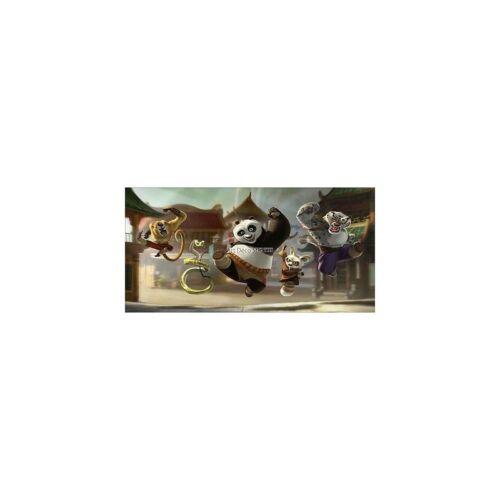 Stickers boys room headboard kung fu panda ref 8479