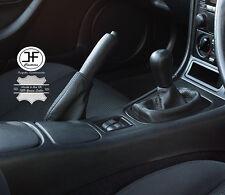Se adapta a Mazda MX5 Miata MK2 2001-2005 Engranaje de freno de mano cuero italiano Polaina de arranque