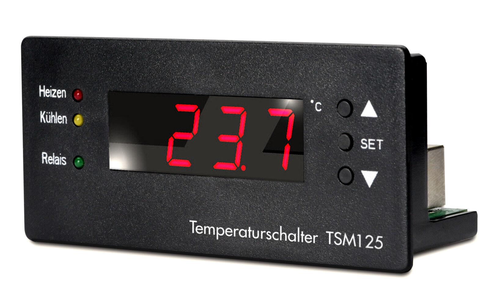 H Tronic Tsm125, Perfetti Regolamento Ihres Roulotte Kühlschrankes  0,1 Gradi