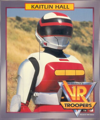 VR TROOPERS 1995 SABAN PUZZLE PACK COMPLETE CARD SET OF 20 5 CARDS PER PACK CH