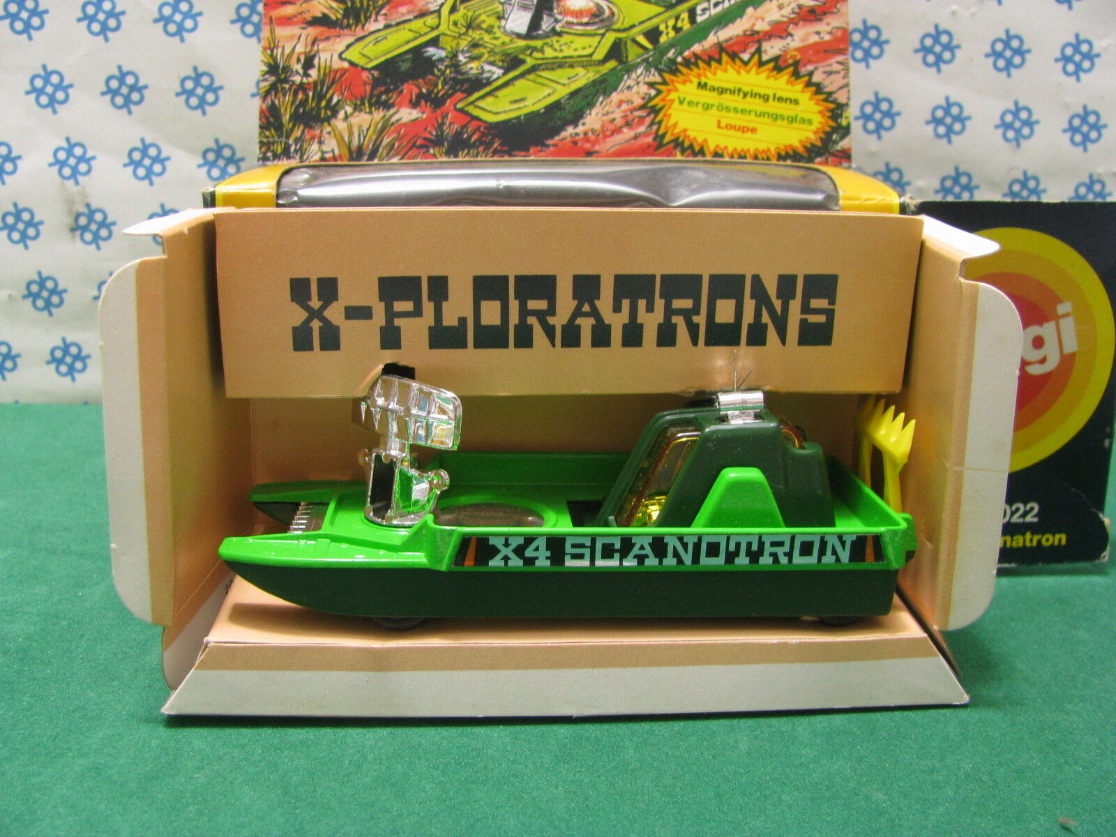 Vintage Corgi - X 4 SCANOTRON - CORGI The Mettoy D2022