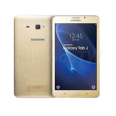 Samsung Galaxy Tab J 7.0 ( Unlocked) Dual SIM 8GB 4G LTE 7in 8MP 1080p Gold