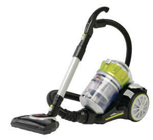 BISSELL-Powergroom-Cyclonic-Canister-Vacuum-1654-Certified-Refurbished