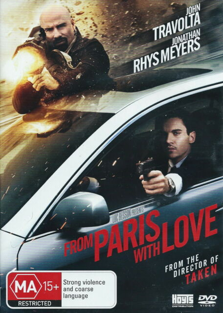 From Paris With Love - Action / Crime / Thriller - John Travolta - NEW DVD