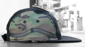 ecf2c4da6f Vans - SIDESTRIPE Mens 5 Panel Hat (NEW) Camo Camouflage Army Cap ...