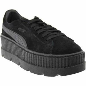 Rihanna X Puma Suede Creeper Black Bronw | Sport shoes