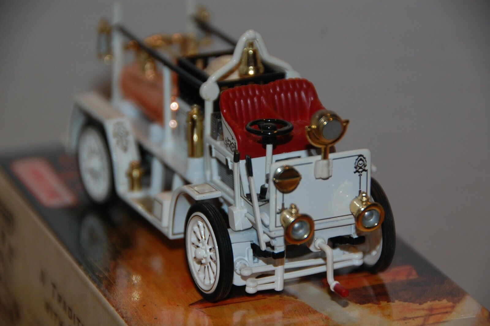 Matchbox blancoo Fire Engine Series YFE21-M 1907 Seagrave AC53