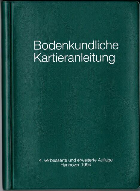 Bodenkundliche Kartieranleitung - Ad hoc Arbeitsgruppe Boden Geol. Landesämter