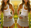 Womens-Jumpsuit-Ladies-Playsuit-UK-Summer-Beach-Holiday-Striped-Dress-Plus-Size thumbnail 19