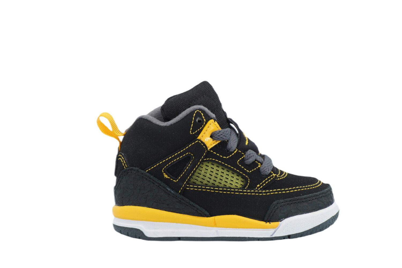 [317701-030] Air Jordan Spizike Toddlers TD Black/University Gold-Dark Grey