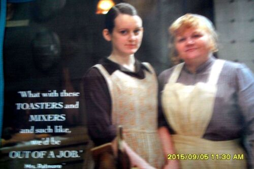 DOWNTON ABBEY TOTE BAG MRS. PATMORE & DAISY + STAFF ON BACK new with tags