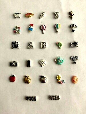 Authentic Origami Owl Assorted Charms