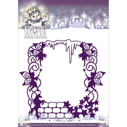 Frame Find It Trading Yvonne Creations Magical Winter Die Cutting Die YCD10041
