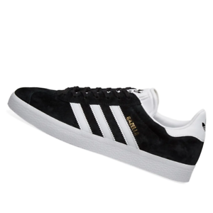 ADIDAS-MENS-Shoes-Gazelle-Core-Black-amp-White-BB5476