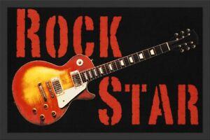Rockbites-Paillasson-034-Rockstar-Guitare-034-Multicolore-Nr-162-100776