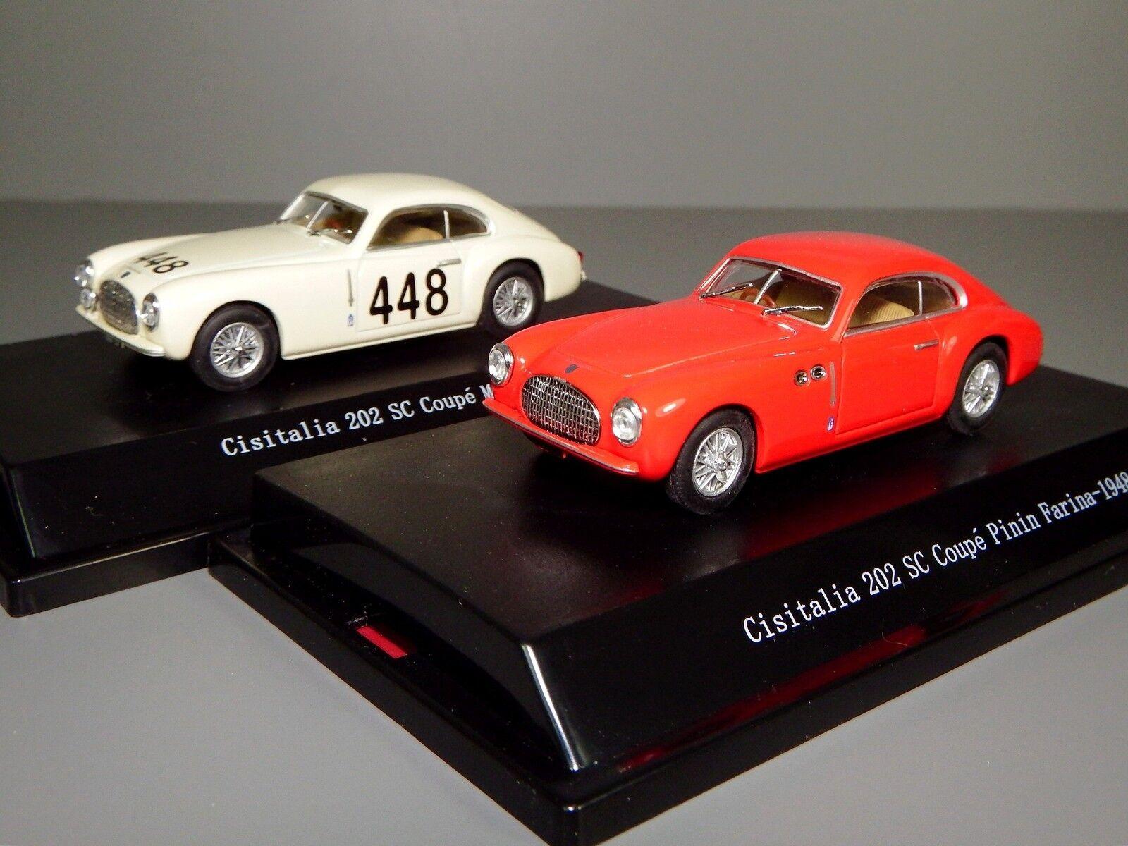 Starline Cisitalia 202 SC Coupe Pinin Farina Mille Miglia 1948 49, Boxed