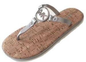 7f4325e214e8 Michael Kors Charm Jelly T-Strap Thong Sandal Slide Flip-Flop Flat ...