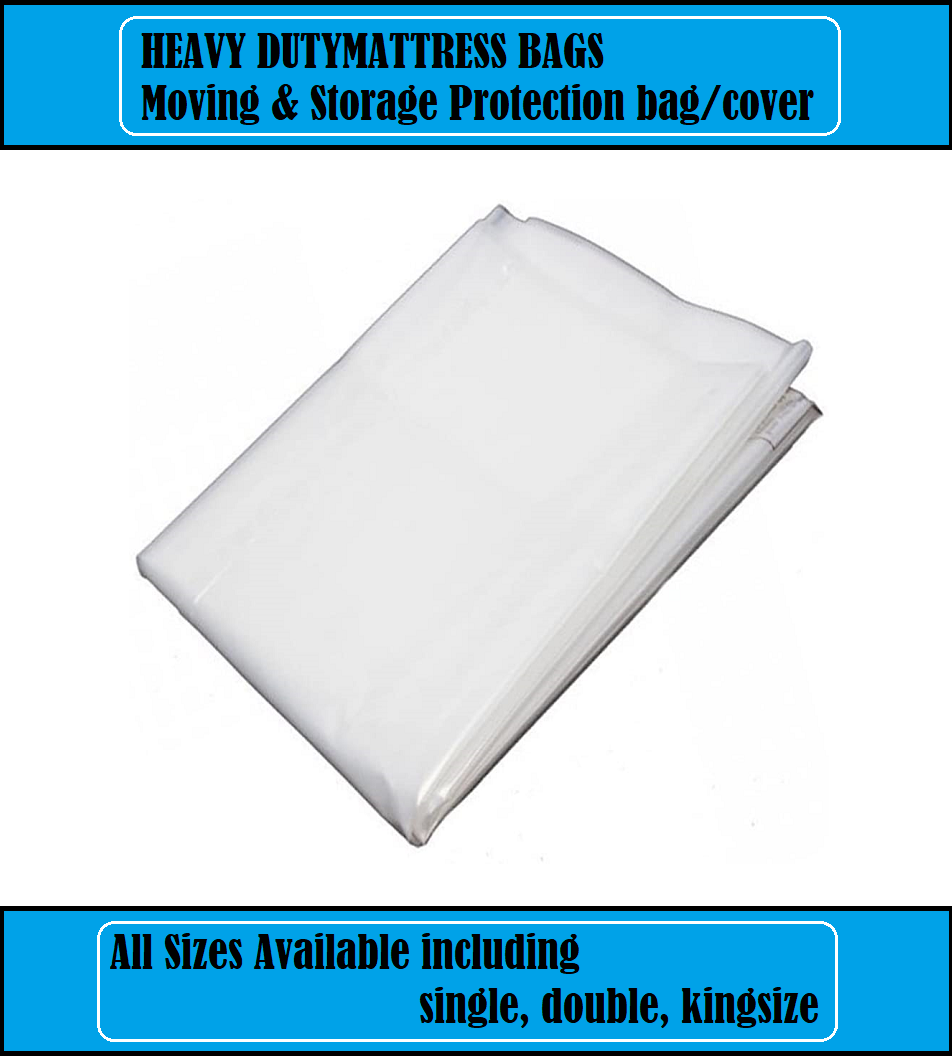Mattress Bag Double King Bed Heavy Duty Protector Moving Removal Cover Storage For Sale Ebay