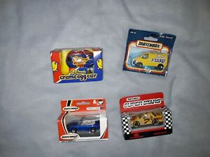 Vintage-Matchbox-And-Corgi-Car-Bundle-x4-in-total-all-are-still-in-their-boxes