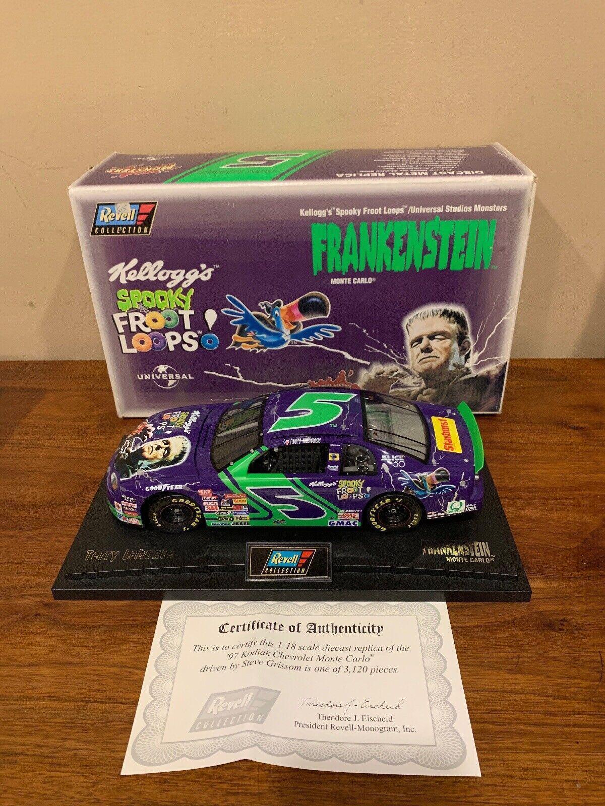 1997 Revell  5 Terry LaBonte-Frankenstein 1 18th Scale Nascar