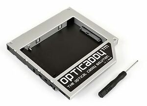 Opticaddy SATA-3 second HDD//SSD Caddy for Dell Inspiron 3520 3721 5425 5520 5521