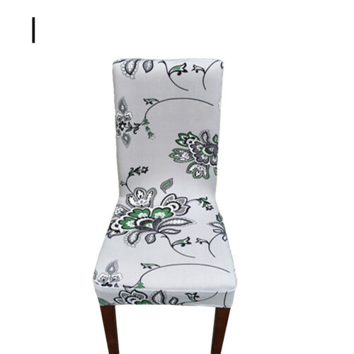 Universal Spandex Chair Cover Elastic Seat Cover Dining Room Kitchen Party Decor