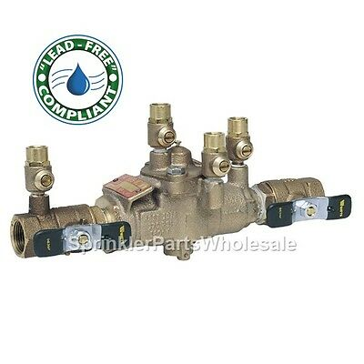 "Ames 3//4/"" LF4000B Lead Free Reduced Pressure Zone Backflow Preventer LF009M3"