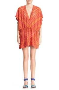 * NWT  Missoni Mare Chevron Stripe Cover-Up, Size 8 US / 44 IT , Orange