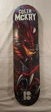 Rare Plan B Colin McKay Black Ice Red Dragon Skateboard Deck - Sold Out