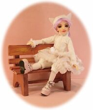 "BJD pattern 4 Creedy 12.75"", 3 outfits; cat, punk & dress. Copy at 110% for MSD"