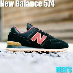 NEW BALANCE ML574OTD BLACK EARTH RED