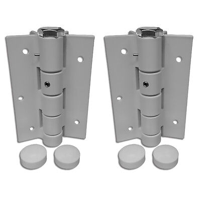 Gate Spring Self-closing Door Hinge Automatic Adjustable Fence Hinge