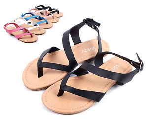 849e6ee84c94e1 Black Cute Slip On Kids Strappy Summer Sandals Girls Flat Youth ...