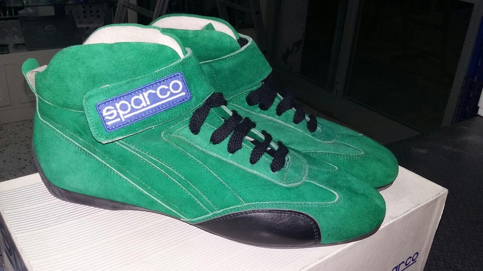 Chaussures SPARCO OMOLOGAZIONE SCADUTA IGNIFUGHE PER GARE UISP O KART TAGLIA 40 USED