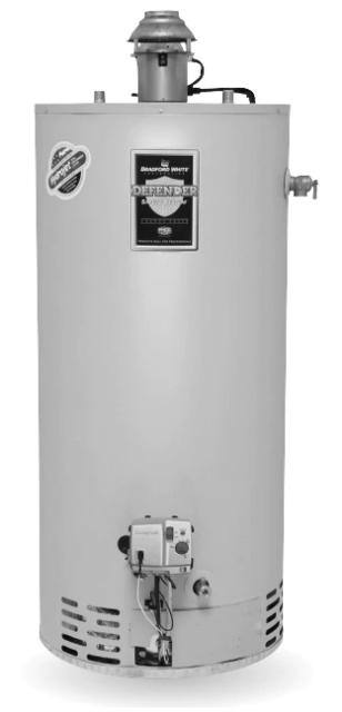 Bradford White 40 Gallon 40k Btu Residential Power Vent Propane Water Heater For Sale Online Ebay