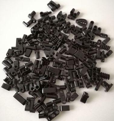 Umoristico Lego 120x Technic Tondi Misti Piccoli Brick Piastre Nero Lotto Set Kg Mattoncini In Molti Stili
