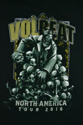 Volbeat Band North American 2 Sided Concert Tour 2
