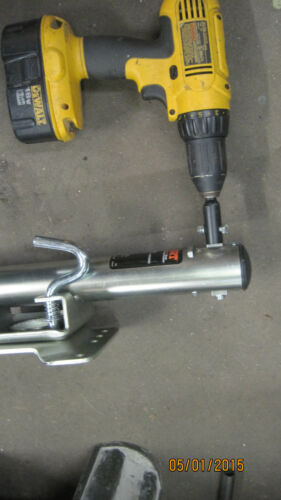 Power   tongue jack raise  and lower with a cordlessNew video electric trailor